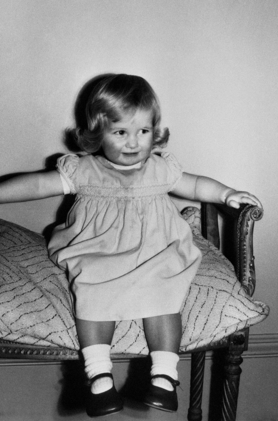Diana Spencer le 1er août 1963