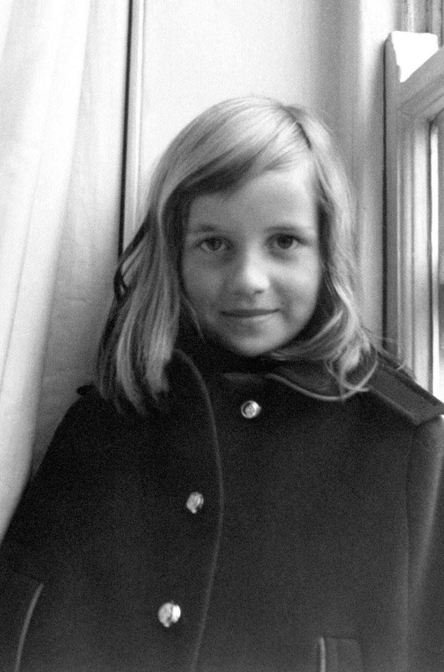 Diana Spencer en 1968