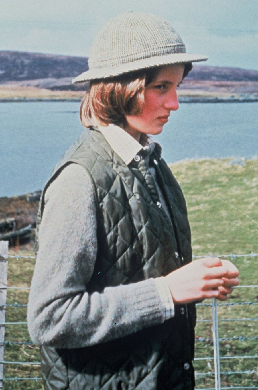 Diana Spencer en 1974