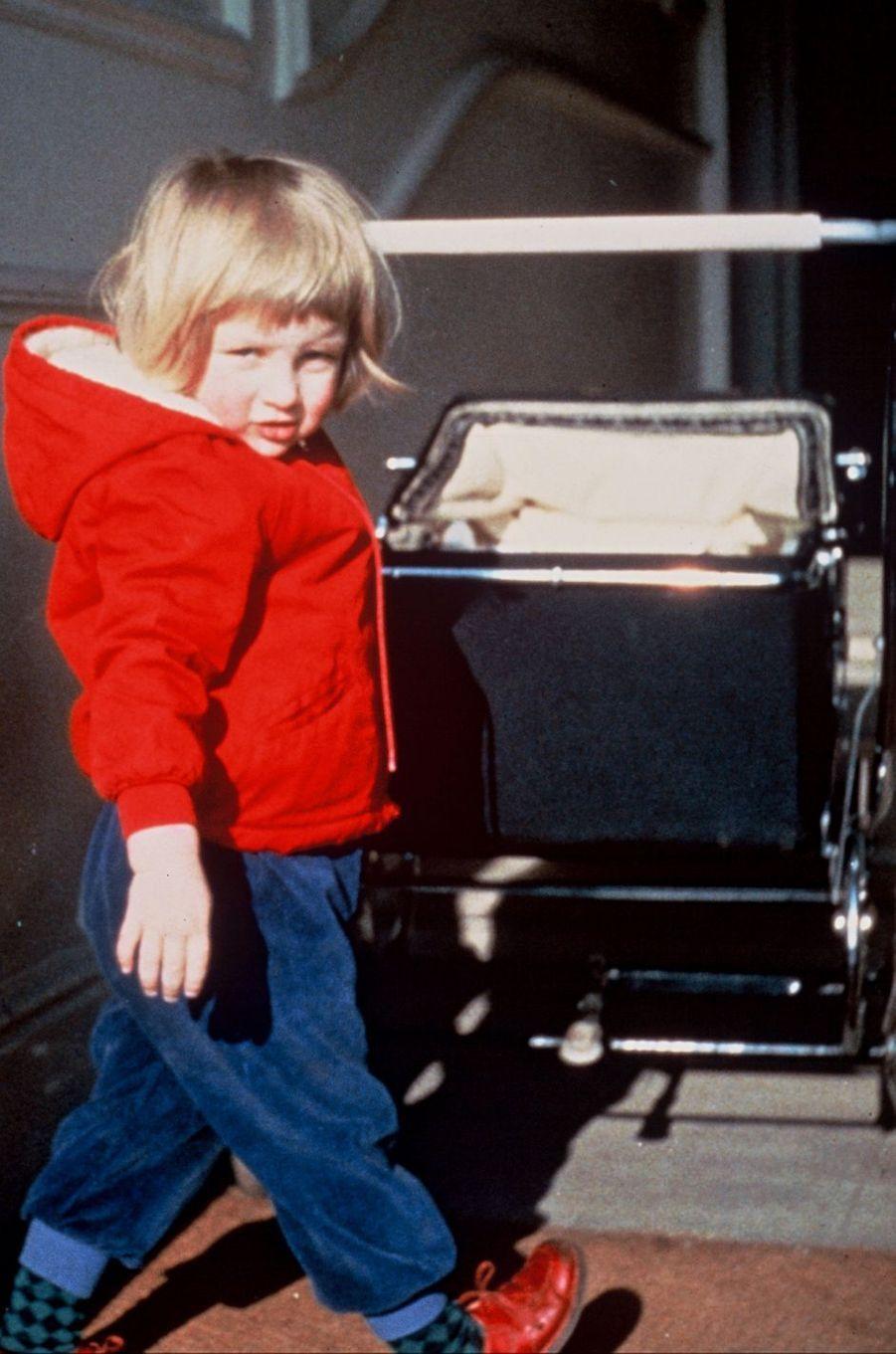 Diana Spencer en 1964