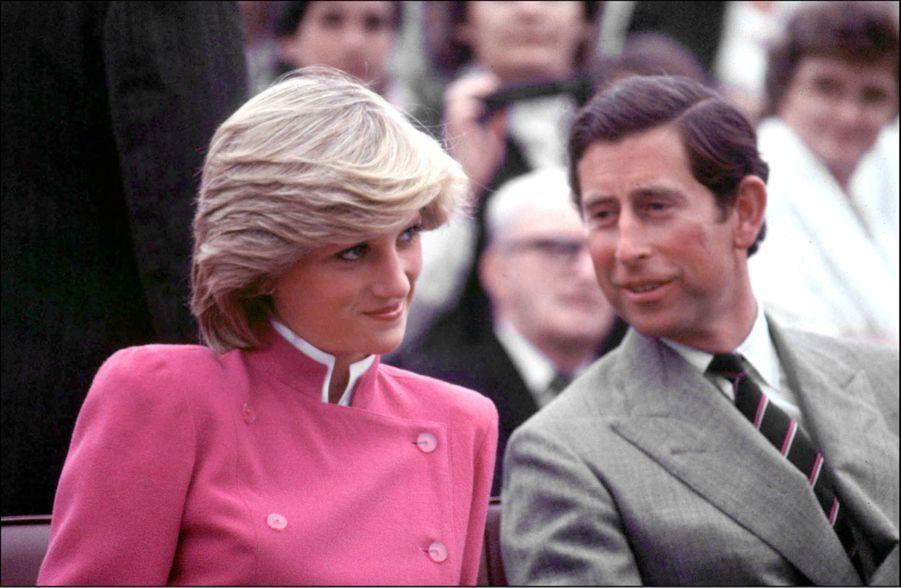 La princesse Diana et le prince Charles, au Canada en juin 1983