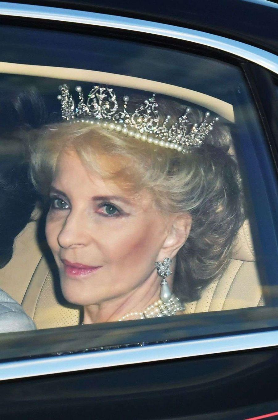 La princesse Michael de Kent à Londres, le 12 juillet 2017
