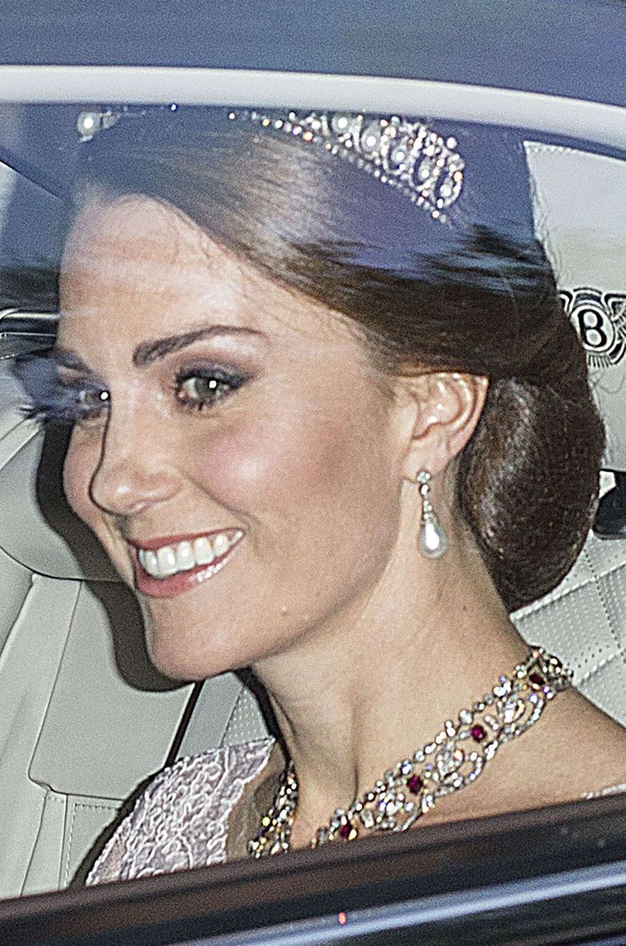 La duchesse Catherine de Cambridge à Londres, le 12 juillet 2017