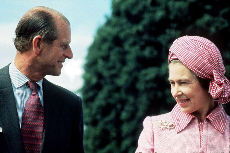 La reine Elizabeth II et le prince Philip, en 1976