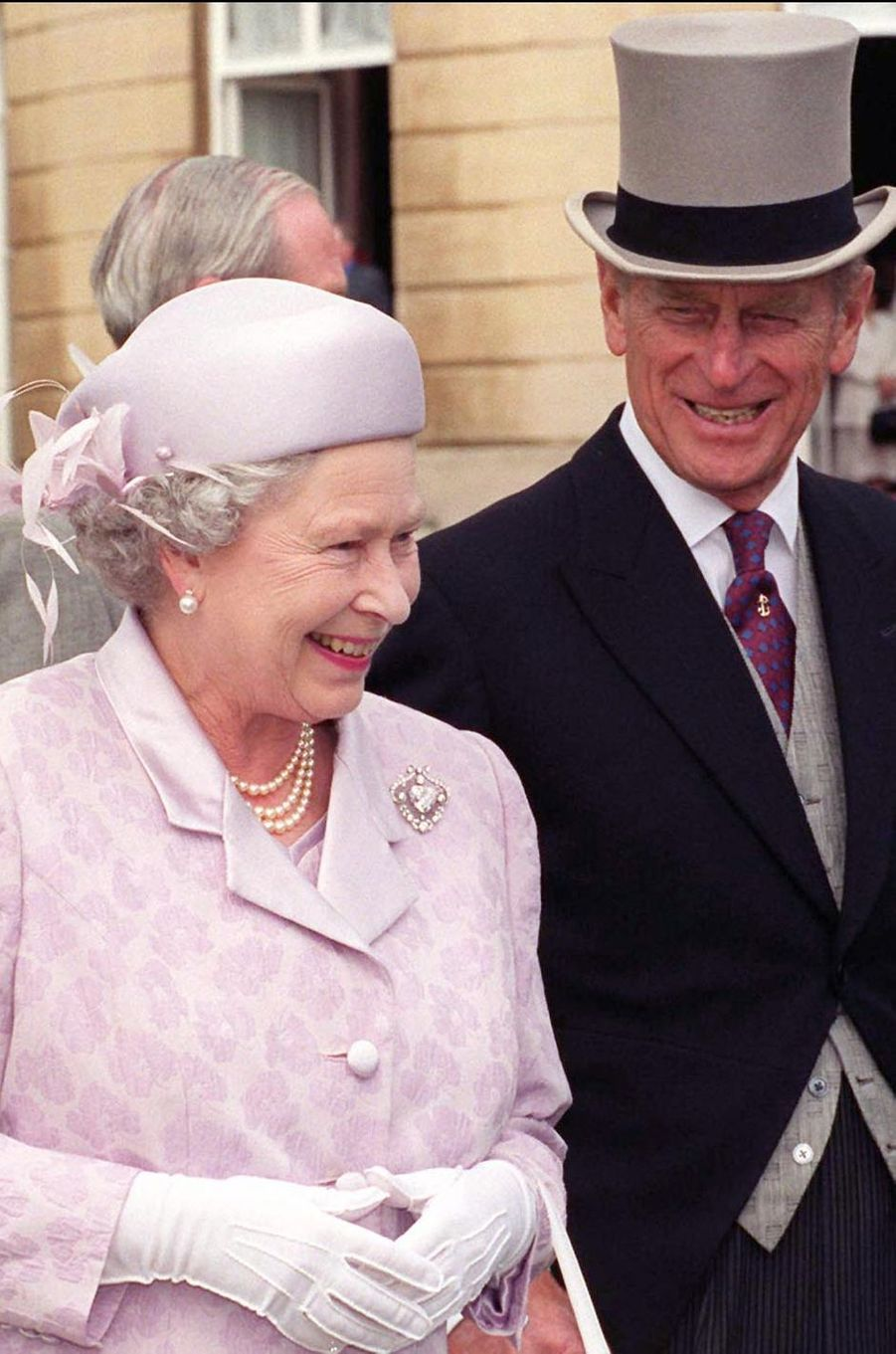 La reine Elizabeth II et le prince Philip, le 21 juillet 1999