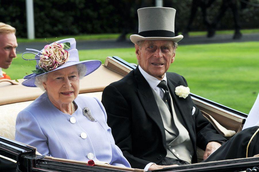 La reine Elizabeth II et le prince Philip, le 17 juin 2010