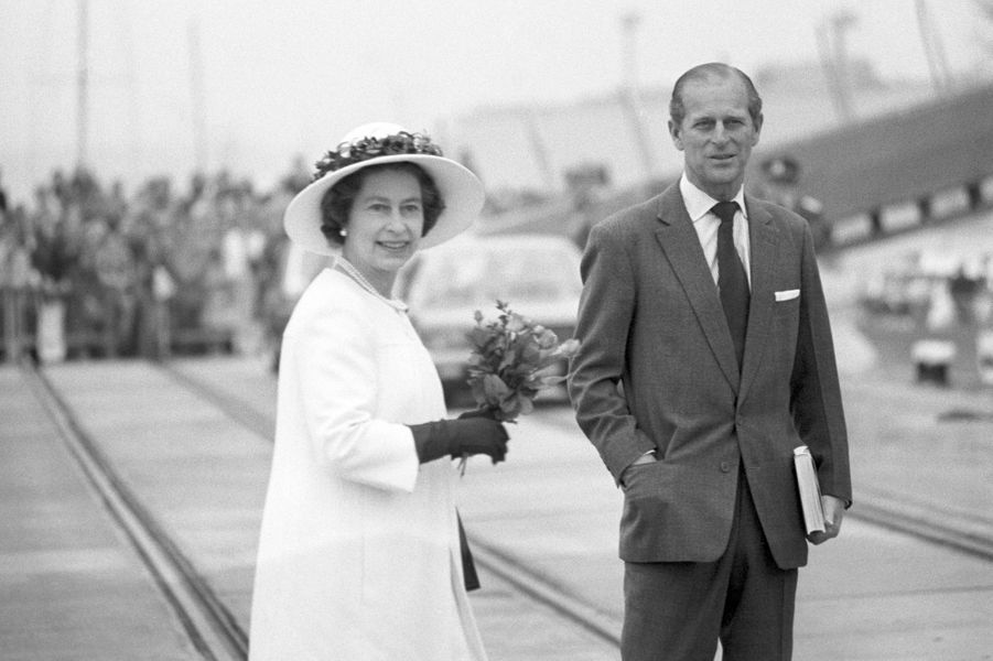 La reine Elizabeth II et le prince Philip, le 24 mai 1978