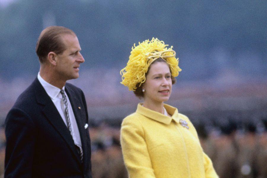 La reine Elizabeth II et le prince Philip, le 27 mai 1965