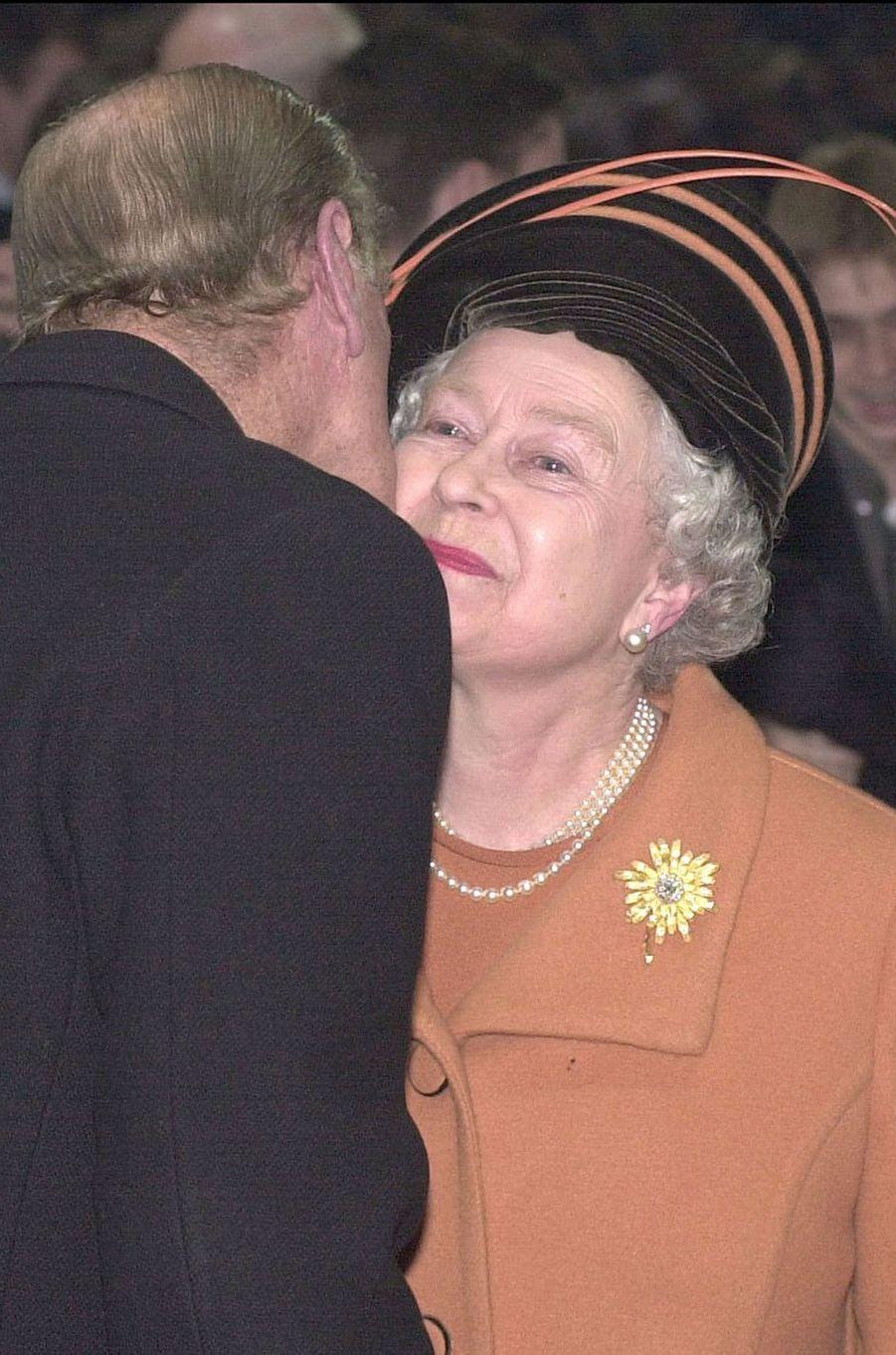La reine Elizabeth II et le prince Philip, en 2000