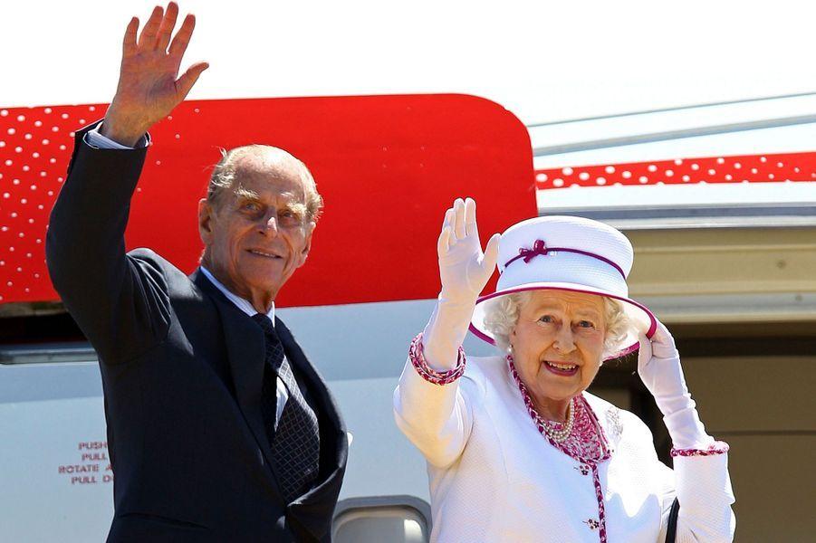 La reine Elizabeth II et le prince Philip, le 29 octobre 2011