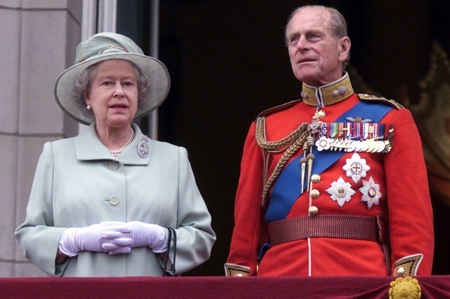 La reine Elizabeth II et le prince Philip, le 16 juin 2001