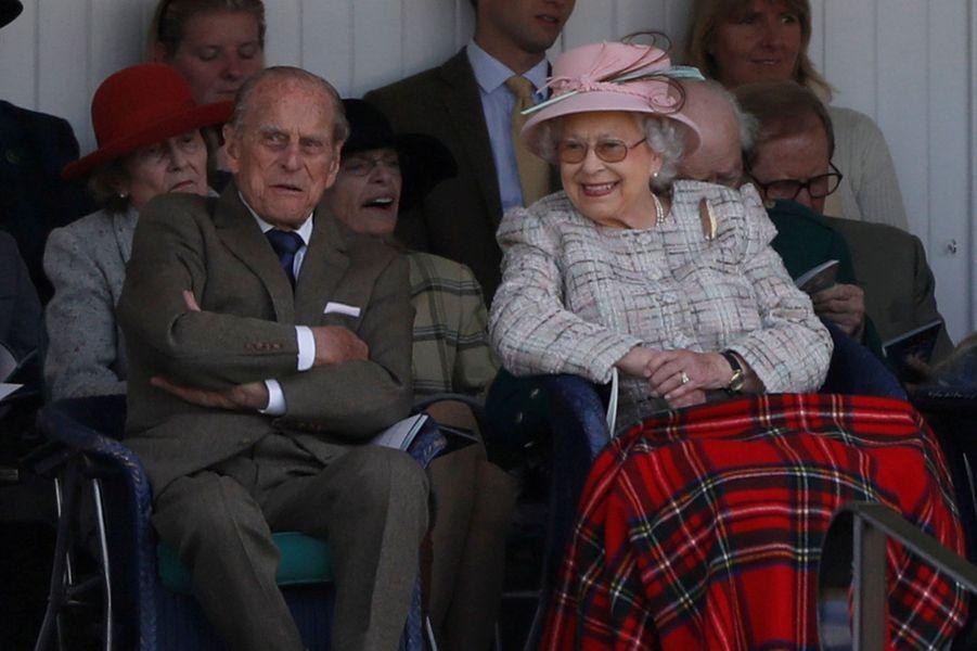 La reine Elizabeth II et le prince Philip, le 2 septembre 2017