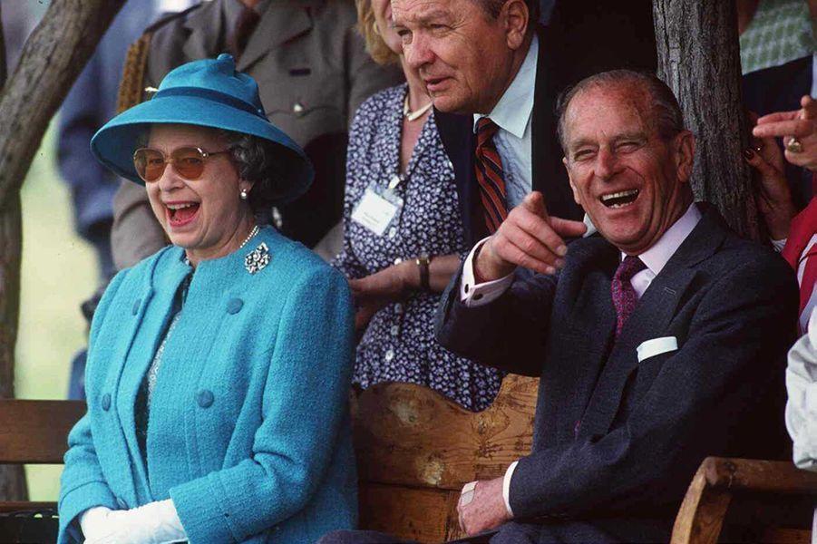 La reine Elizabeth II et le prince Philip, le 5 mai 1993