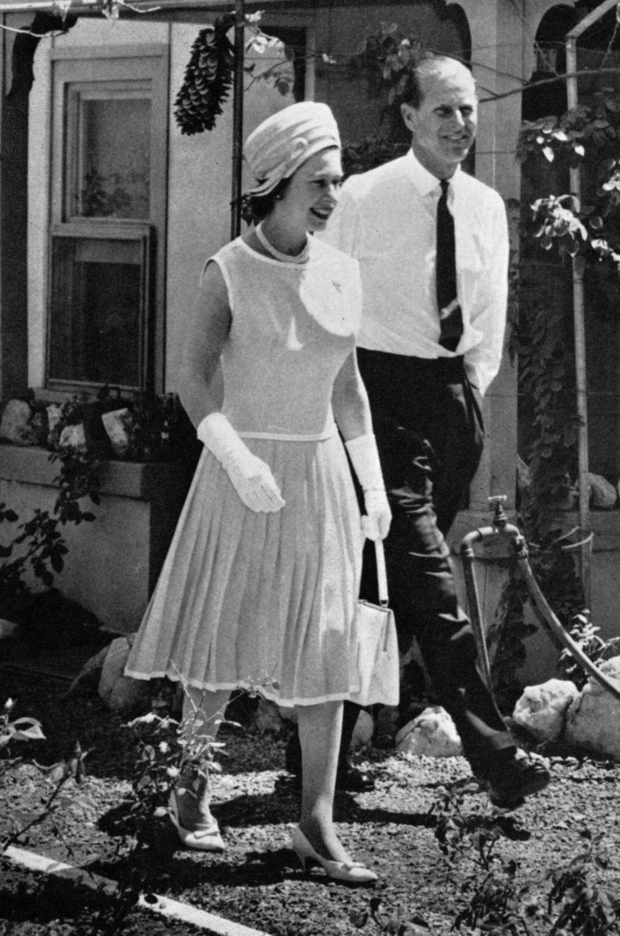 La reine Elizabeth II et le prince Philip, en 1963