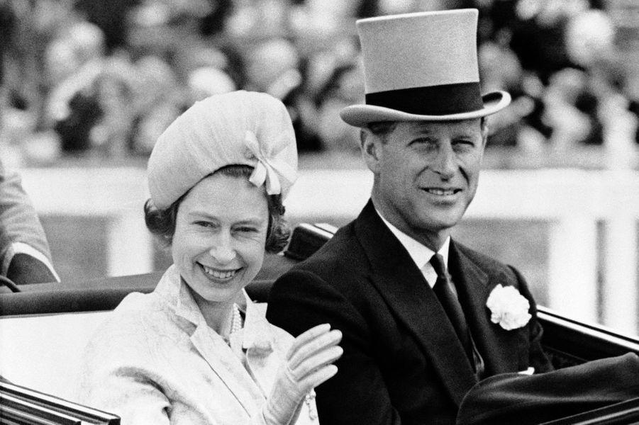 La reine Elizabeth II et le prince Philip, le 19 juin 1962