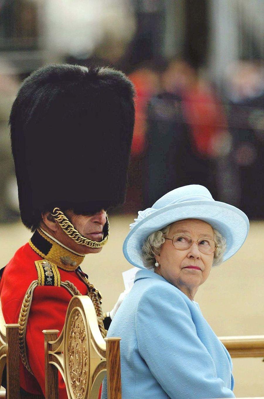 La reine Elizabeth II et le prince Philip, le 11 juin 2005