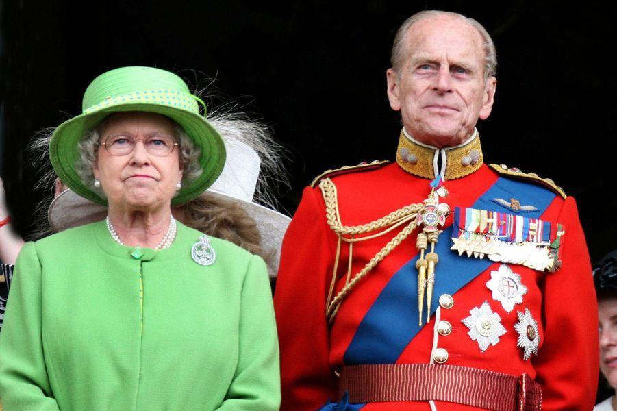 La reine Elizabeth II et le prince Philip, le 16 juin 2007