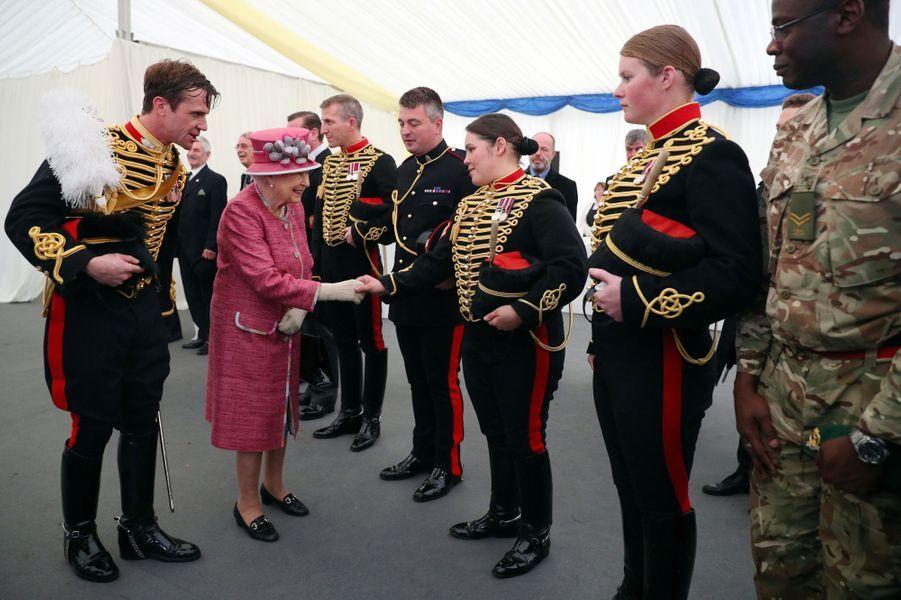 La reine Elizabeth II à Londres, le 19 octobre 2017La reine Elizabeth II à Londres, le 19 octobre 2017