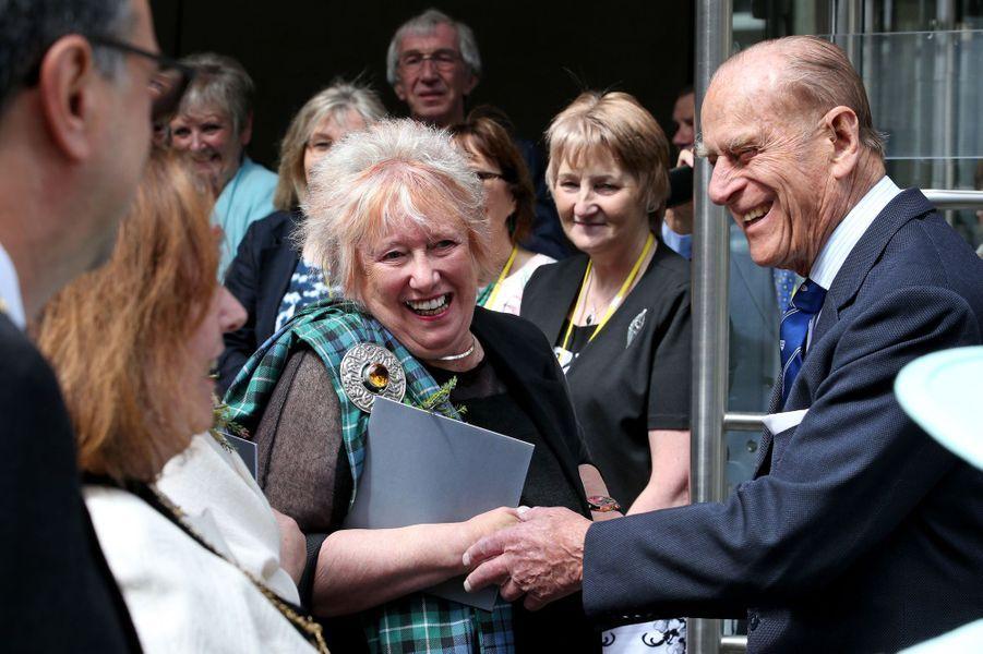 Le prince Philip à Edimbourg, le 2 juillet 2016