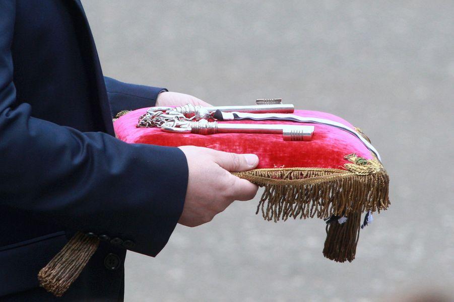 Les clés de la ville d'Edimbourg remises à la reine Elizabeth II le 1er juillet 2016