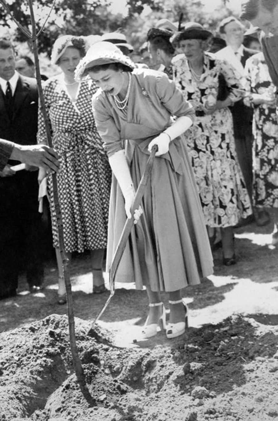 La princesse Elizabeth, le 10 juillet 1949