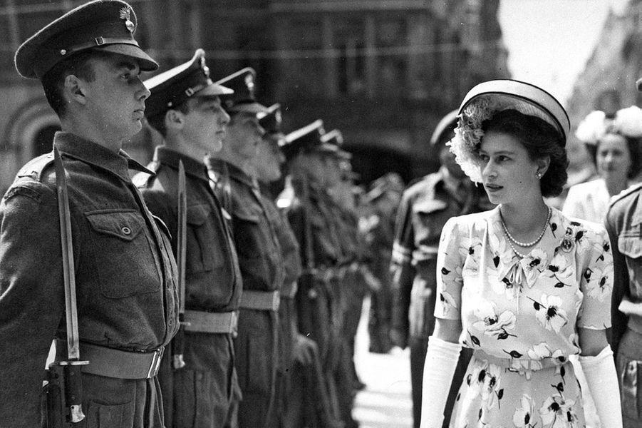 La princesse Elizabeth, le 11 juin 1947