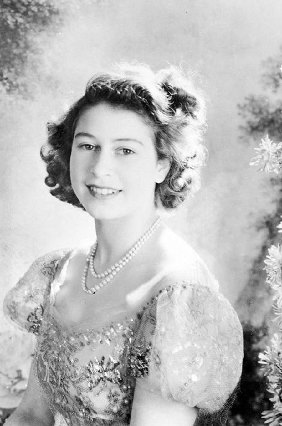 La princesse Elizabeth, le 16 février 1946