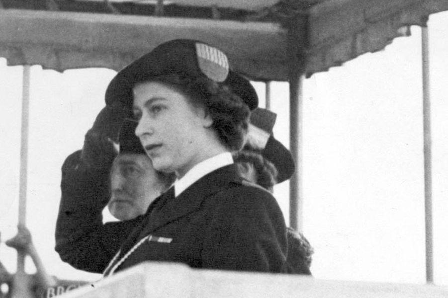La princesse Elizabeth, le 19 mai 1946