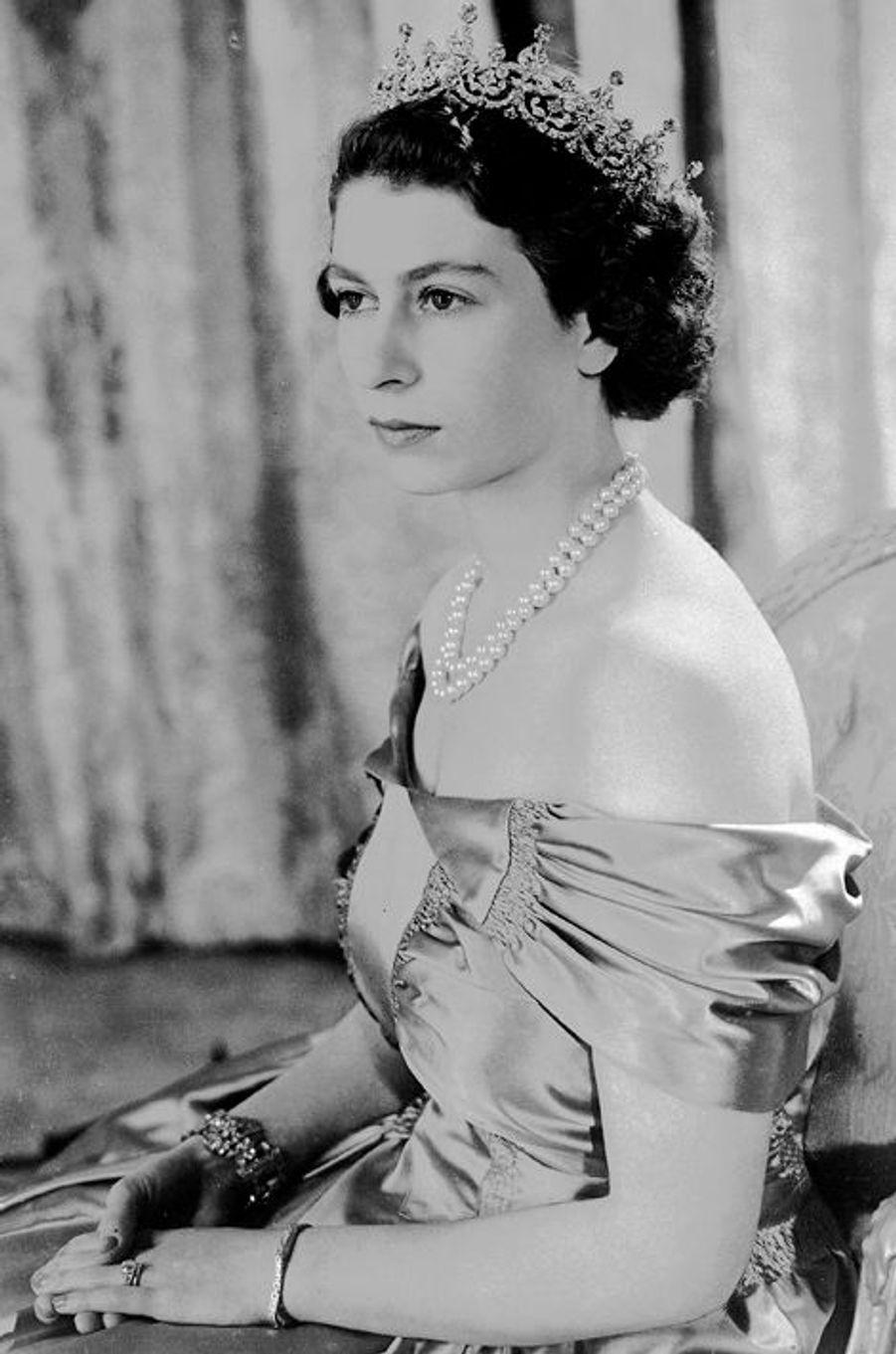 La princesse Elizabeth, le 30 août 1949