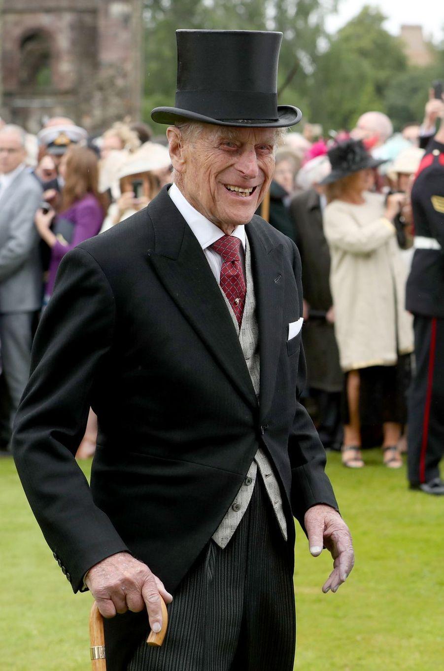 Le prince Philip à Edimbourg, le 4 juillet 2017