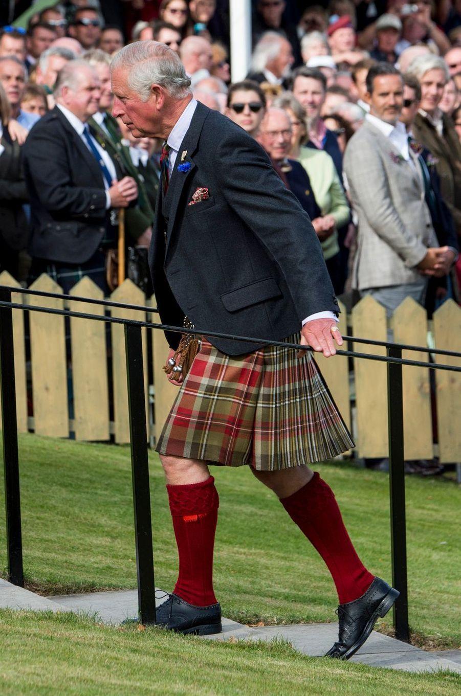 Le prince Charles au Highlands Braemar Gathering, le 2 septembre 2017