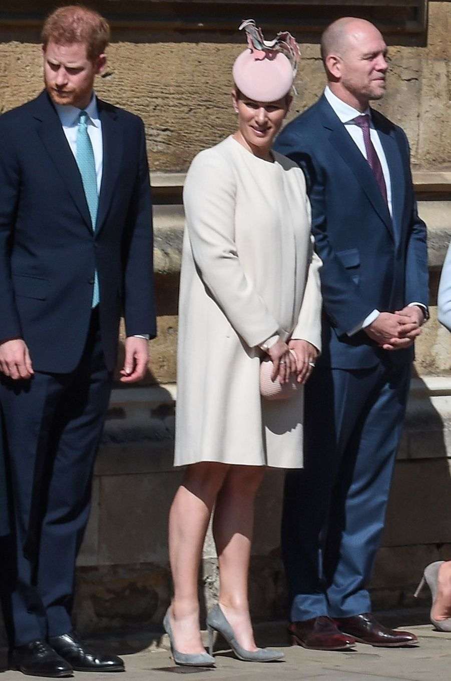 Zara Phillips à Windsor, le 21 avril 2019