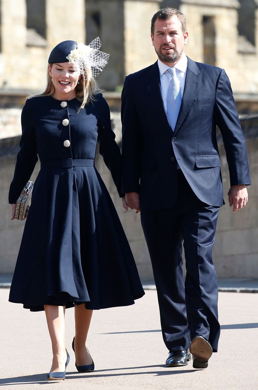 Autumn Phillips à Windsor, le 21 avril 2019