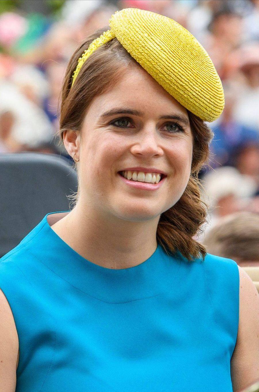 Le chapeau de la princesse Eugenie d'York au Royal Ascot, le 18 juin 2019