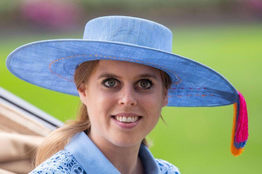 Le chapeau de la princesse Beatrice d'York au Royal Ascot, le 18 juin 2019