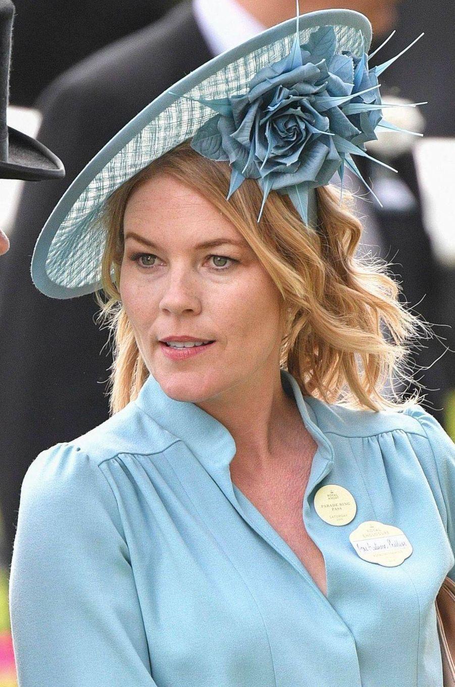 Le chapeau d'Autumn Phillips au Royal Ascot, le 22 juin 2019