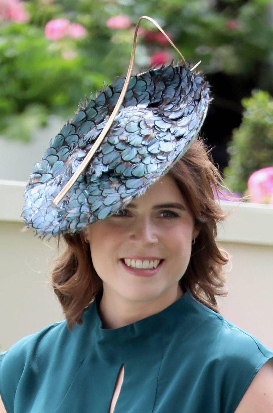 Le chapeau de la princesse Eugenie d'York au Royal Ascot, le 20 juin 2019