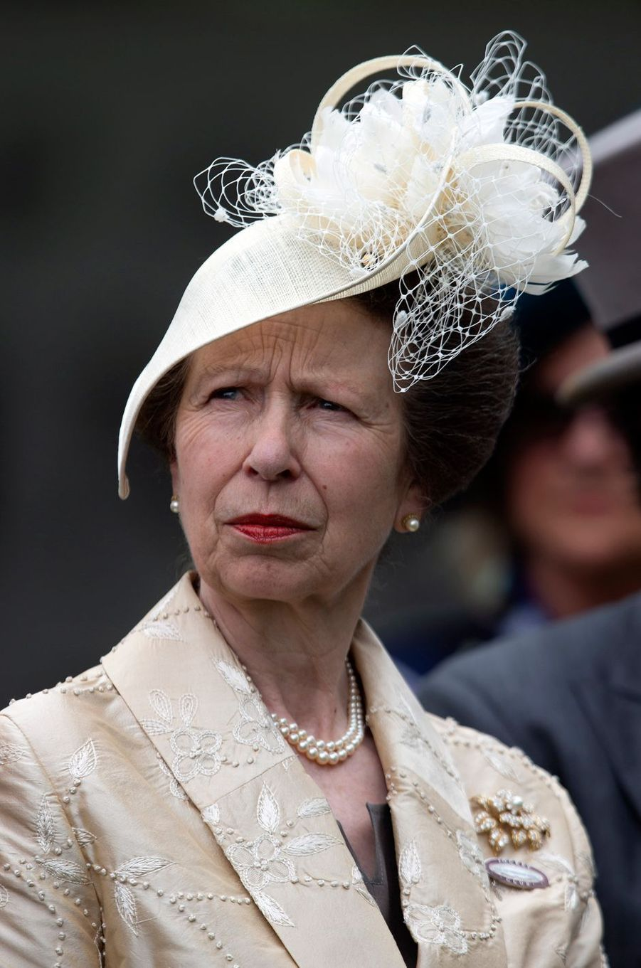 La princesse Anne au Royal Ascot, le 20 juin 2018