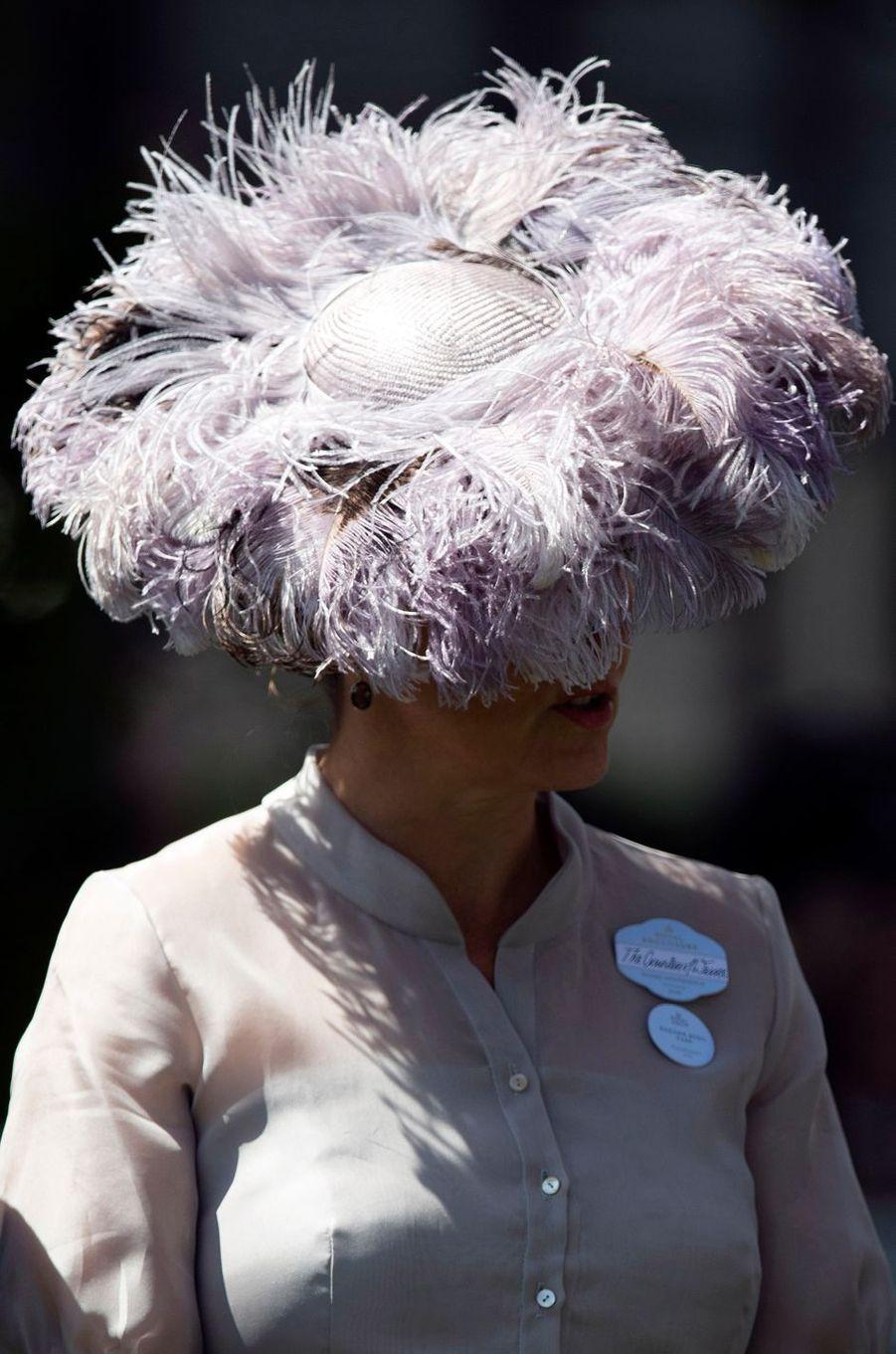La comtesse Sophie de Wessex au Royal Ascot, le 21 juin 2018