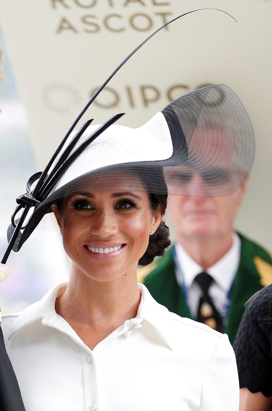 Meghan Markle, duchesse de Sussex, au Royal Ascot, le 19 juin 2018