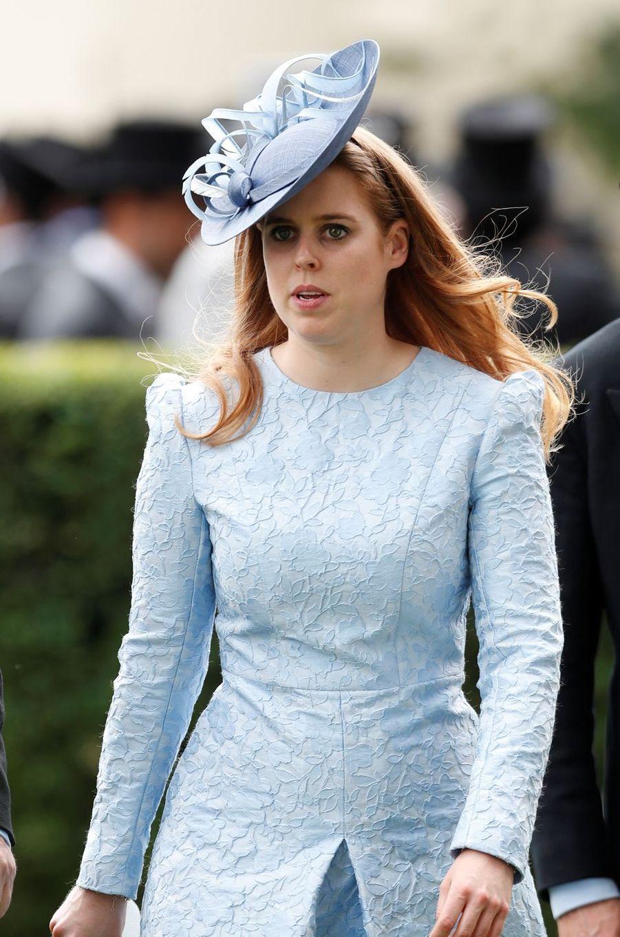 La princesse Beatrice d'York au Royal Ascot, le 19 juin 2018