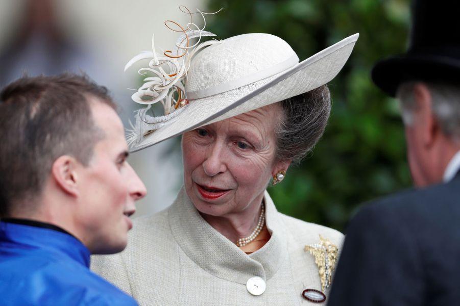La princesse Anne au Royal Ascot, le 19 juin 2018