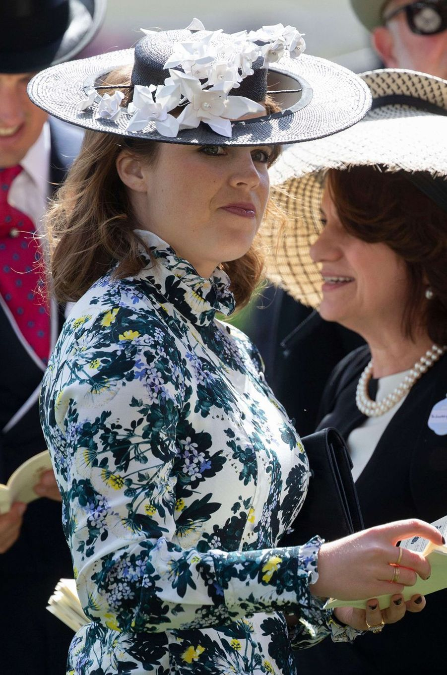 La princesse Eugenie d'York au Royal Ascot, le 21 juin 2018