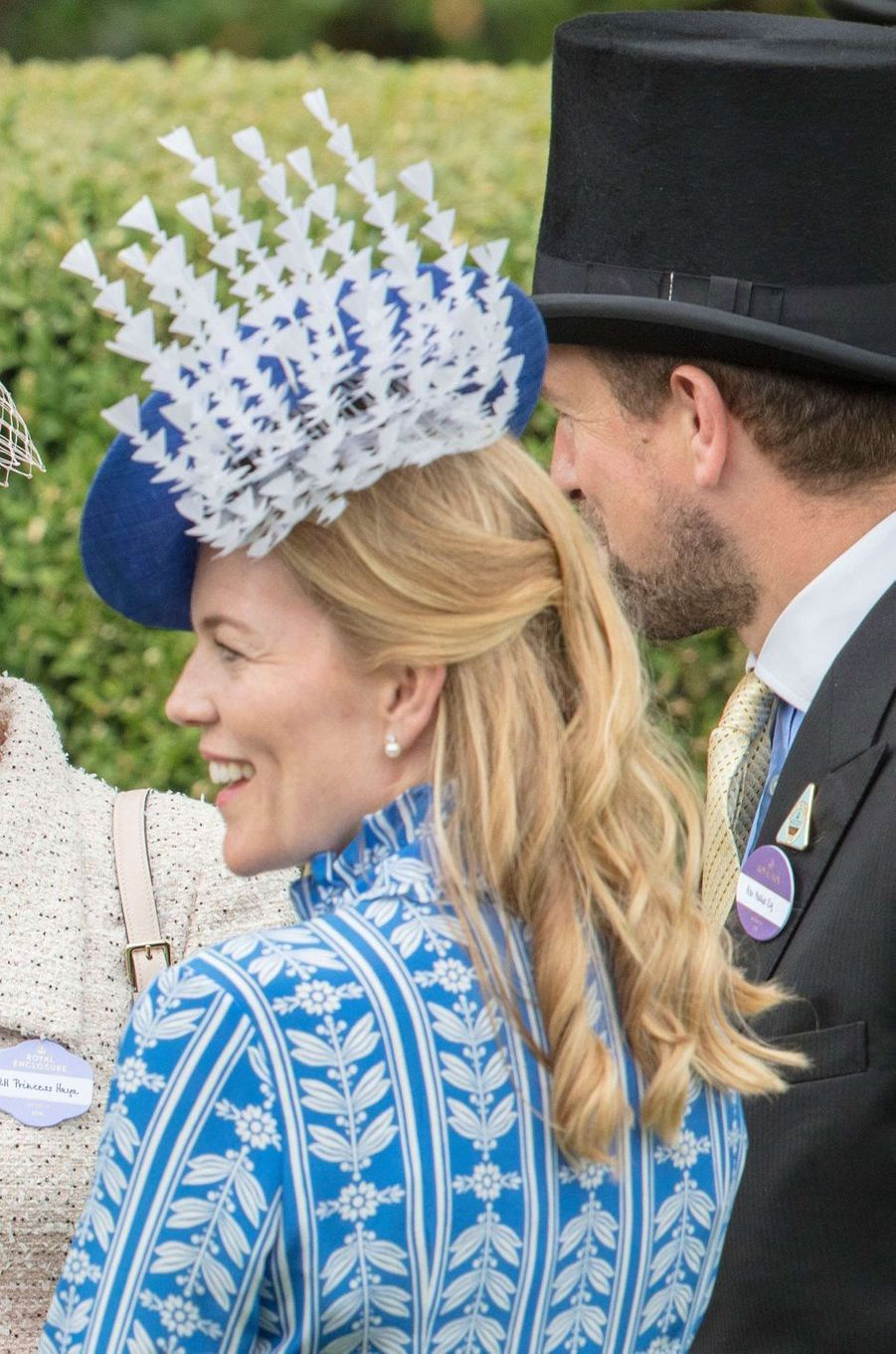 Autumn Phillips au Royal Ascot, le 20 juin 2018
