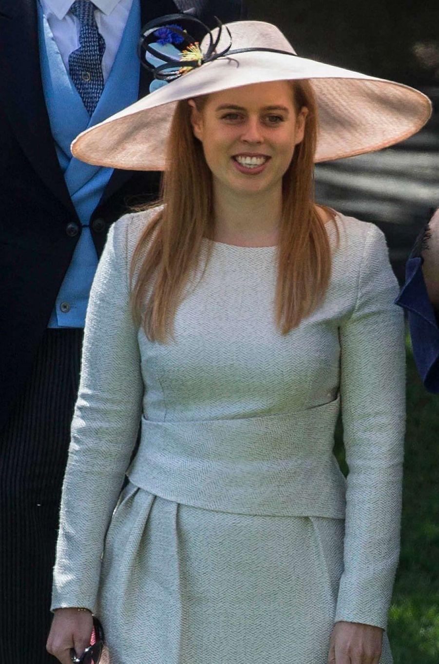 La princesse Beatrice d'York au Royal Ascot, le 22 juin 2018