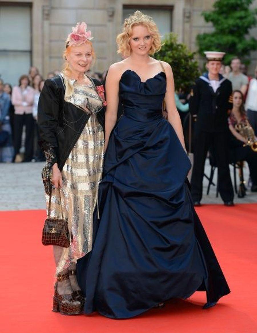 Vivienne Westwood et Lily Cole