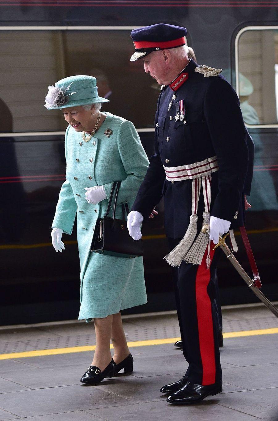 La reine Elizabeth II à Londres, le 7 juin 2016