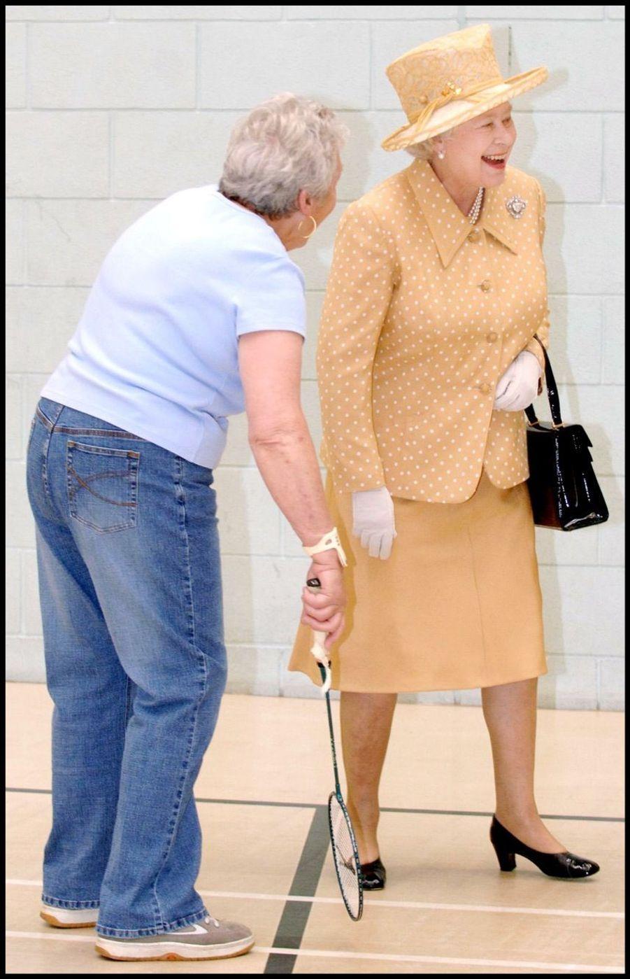 La reine Elizabeth II à Bexley (juillet 2005)