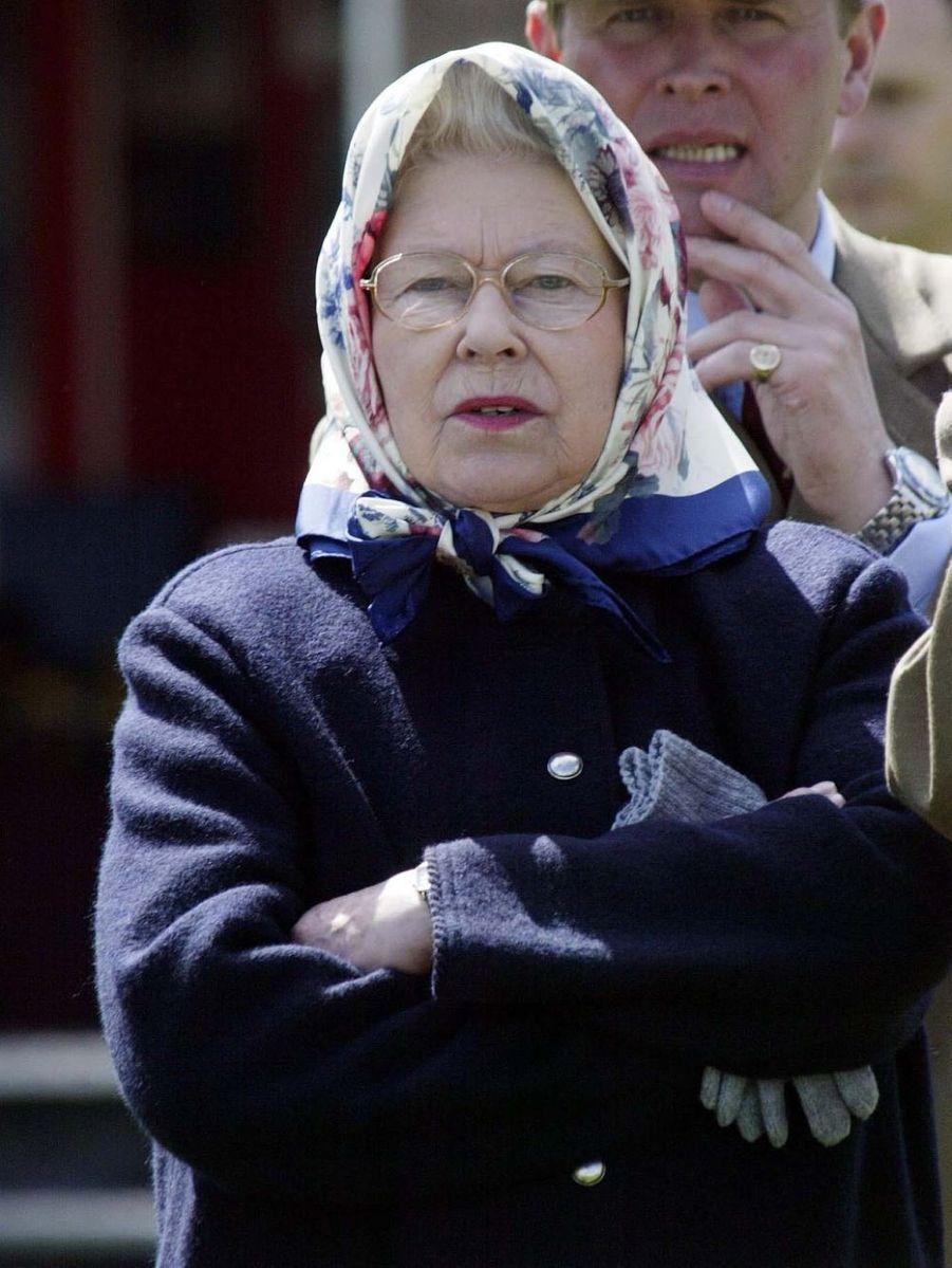 La reine Elizabeth II à Windsor (mai 2005)