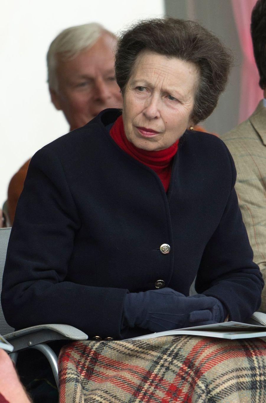 La princesse Anne à Braemar, le 3 septembre 2016